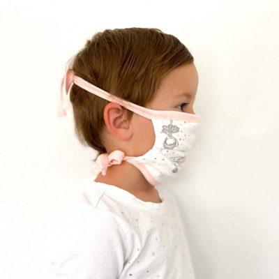 Mundbedeckung für Kinder Fussball