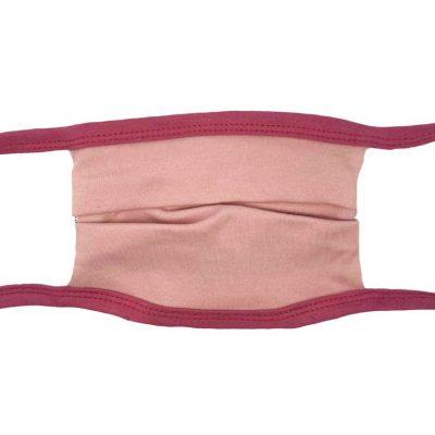 Mundbedeckung mit Nasenbügel braun/türkis