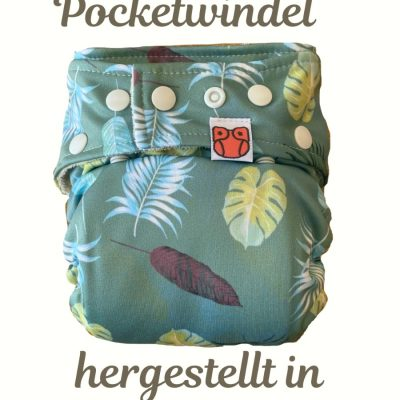 Pocketwindel Naturzauber Palms GOLD