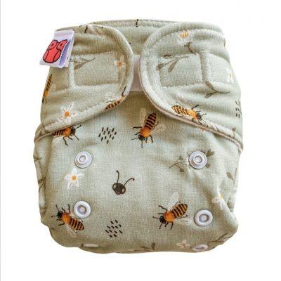 Newborn Bio-Höschenwindel Honey Bees