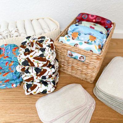 Neugeborenen Mietpaket - sorgenfrei wickeln